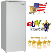Thomson Upright Freezer 6 5 Cu Ft 55 Tall Frozen Food Storage Reversible Door