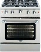 Capital Mcr304 30 Precision Series Freestanding Gas Range With Manual Clean