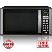 Hamilton Beach 1 3 Cu Ft Microwave Oven Black 1000w Stainless Steel Led Display