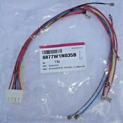 6877w1n035b Lg Harness Single For Electric Range New Oem Part
