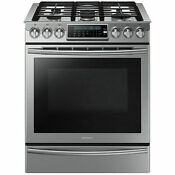 Samsung Stainless 30 Gas Slide In Range Convection Nx58h9500ws