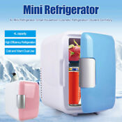 New Portable Refrigerator 4 L Mini Dual Use Cooler Warmer Cosmetic Fridge Us