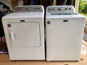 Maytag Electric Washer And Dryer Set Lightly Used