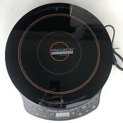 Nuwave Induction Precision Cooktop High Performance Model 30121 Works Great
