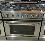 Capital Gscr366n 36 Inch Pro Style Natural Gas Range With 6 Sealed Burners