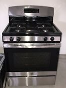 New General Electric Gas Stove