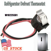 Defrost Thermostat W10225581 1872722 2196155 Ps2376801 2321799 2188824 Ap6017375