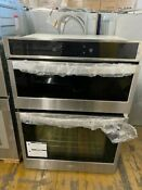 Whirlpool Woc54ec0hs 30 Electric Smart Wall Oven With Built In Microwave
