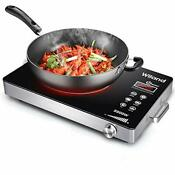 Induction Cooktop Stove 2200w Electric Ceramic Heaters Cooker With Timer