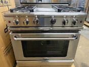 Capital Precision Series Gcr364g 36 Pro Style Natural Gas Range Sealed Burners