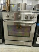 Dacor Distinctive Dr30gisng 30 Slide In Gas Range With Convection Oven Nat Gas