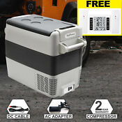 30 40 50l 12v Portable Compact Refrigerator Freezer Compressor Cooler Fridge