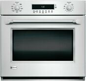Monogram Zet1phss 30 Single Electric Wall Oven W Wifi Connect 5 0 Cu Ft Oven
