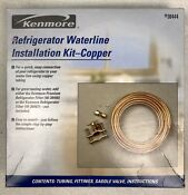 Kenmore Waterline Installation Kit Complete Copper Tubing New Open Box 46 38444