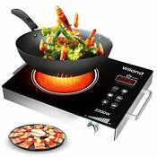 Portable Induction Cooktop Induction Stove Countertop Burner 2200 W 120 Volts