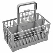 Dishwasher Cutlery Basket Kitchen Organizer Universal Utensil Silverware Holder