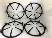 Circular Cast Iron Stove Topper Grate 105235 W Drip Pans Kenmore