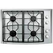 New In Box Ge Monogram Zgu384nsmss 30 Stainless 4 Burner Gas Cooktop Natural