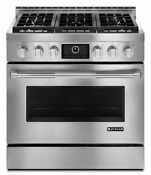 Jenn Air Jgrp436wp Pro Style 36 Inch Gas Range With Multimode Convection