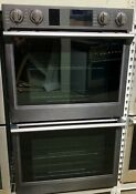 Samsung Nv51k7770dg 30 Flex Duo Double Wall Oven In Black Stainless Steel