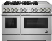 Jenn Air Jdrp548hl 48 Smart Freestanding Dual Fuel Range With Natural Gas