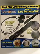 Dryer Max Vent Duct Cleaning Lint Trap Removal Vacuum Kit As Seen On Tv New