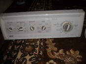 3953359 Ap3100328 Kenmore Washer Control Panel Assembly Timer And Switches