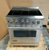 Viking 30 Smoothtop 4 Element Pro Style Electric Range Vesc5304bss Stainless