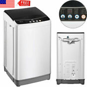 Portable 10lbs Full Automatic Washing Machine Compact Powerful Washer Air Dry