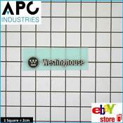 Genuine Westinghouse Refrigerator Badge Part 1458193