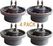 4x 165314 Dishwasher Lower Rack Basket Wheel For Bosch Neff Siemens 00165314
