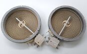 2 Whirlpool Kenmore Range 1200 Watt Element 2 8272567 8523698 E90 2