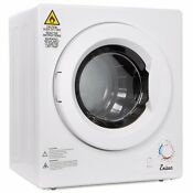 Portable Stainless Steel Tumble Dryer 9lbs Home Apartment Rv Dome Compact Dryer