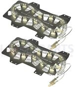 2 Pack Dryer Heater Heating Element For Maytag 35001247 Samsung Dc47 00019a