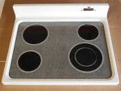 Ge Range Glass Cooktop Wb62x10009 Almond Jbp78ay1aa Rs220138g