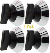 Pack Of 4 Top Burner Knob Wp330190 Ap6008016 309540 328135 329404 330190