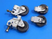 Whirlpool Side By Side Refrigerator Ed5fhgxkt00 Roller Wheels 2196236 2174748
