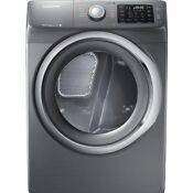 Samsung Dv42h5200ep 7 5cf Electric Dryer 11 Cycle With Steam Platinum