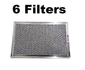 6 Pack Grease Filter For Frigidaire Oven Microwave 5303319568 5 X 7 5 8 X 3 32