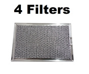 Microwave Mesh Grease Filter For Ge Wb06x10654 5 X 7 5 8 X 3 32 4 Pack