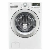 Lg Wm3270cw 4 5cf 9 Cycle Front Loading Washer White