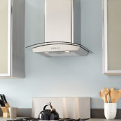 24 Caselle Series Stainless Steel Wall Mount Range Hood 860 Cfm