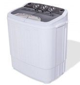 Portable Compact Mini 8 8lbs Twin Tub Washing Machine Washer Spinner Dryer Timer