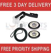 Wp4392065 Dryer Belt Pulley Kit For Whirlpool Kenmore 341241 349241t 691366