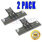 2 Pack W10350376 Dishwasher Upper Rack Adjuster For Kenmore Kitchenaid Kenmore
