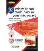 Microwave Crispy Bacon Sheets Pack Of 10 Toastabags