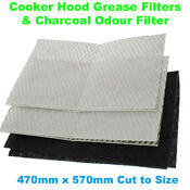Aga Cooker Hood Grease Filters Charcoal Odour Filter 7561
