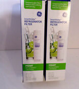 Lot 2 Ge Smartwater Mswf Replacement Cartridge Refrigerator Filter Nib