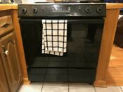 Jenn Air Sve47100b Grill Range Electric Stove Oven Downdraft Slide In