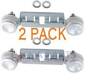 2 Pack Ps232404 Double Top Burner Kit Fits Ge Kenmore Hotpoint Gas Oven Stove